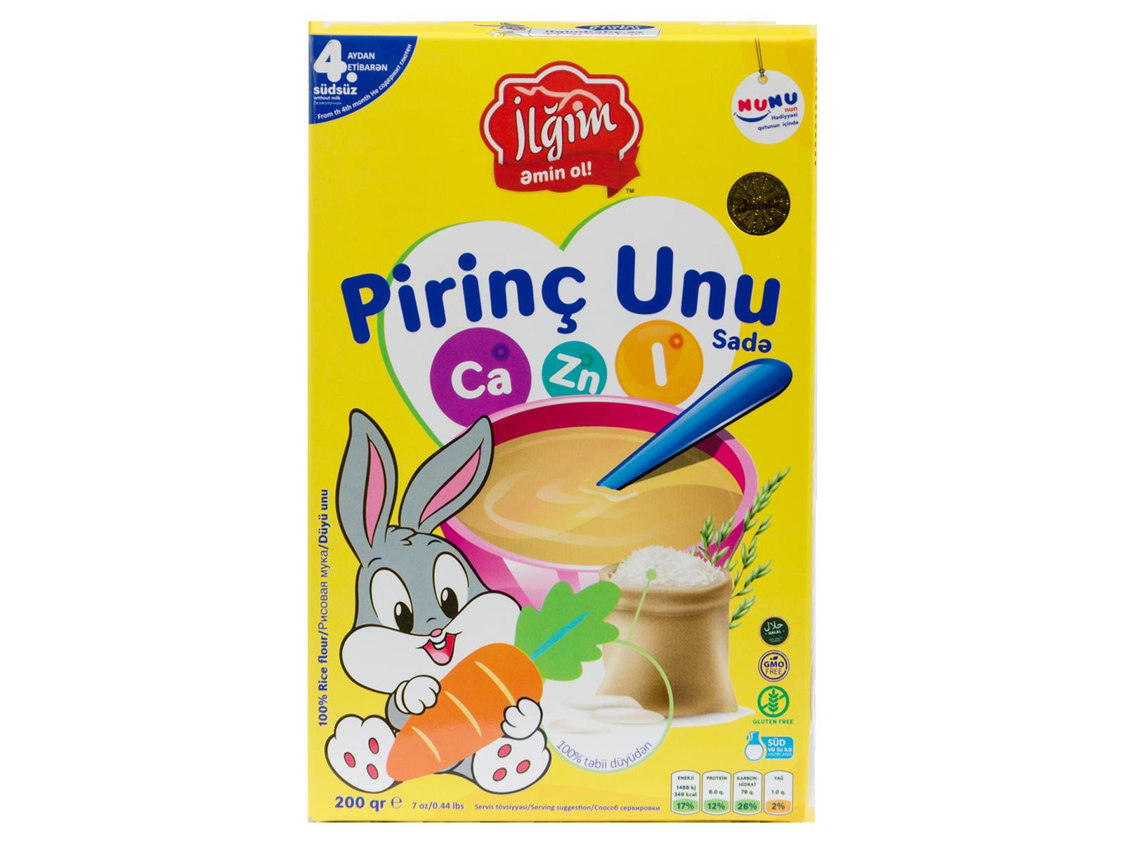 Pirinç Unu 1/12*200 qr-4760095000830
