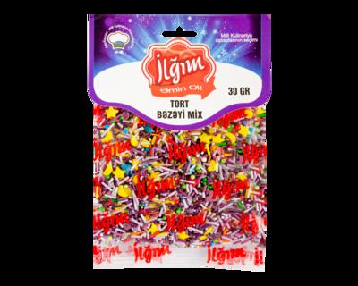Tort bəzəyi Mix 1/15*30 qr-4760095008065
