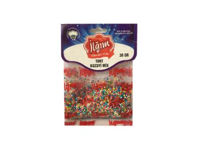 Tort bəzəyi mix 1/15*30 qr - 4760095008065
